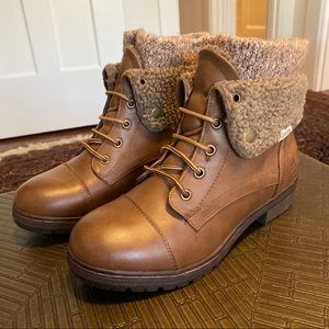 """Coolway """"Bring"""" Boots in """"Cue"""" Brown"""